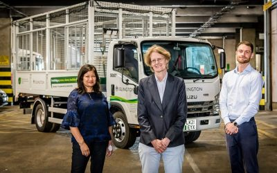 Islington welcomes first fully electric cage tippers as Waste and Recycling Centre electrification continues